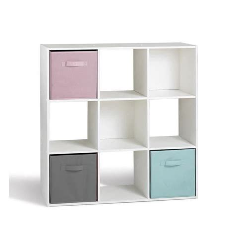 Etagere 9 Cases by Compo Cube 9 Cases Blanc 91 X 91cm Achat Vente Meuble