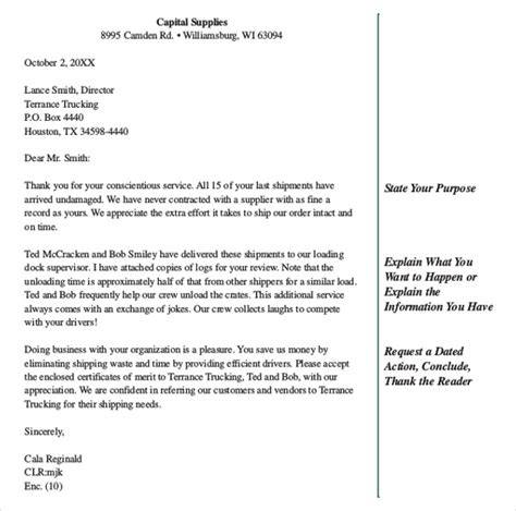 business letter template 44 free word pdf documents free premium templates