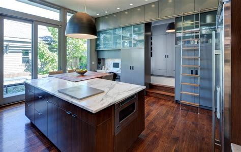 Aluminum Kitchen Cabinets by Kitchen Library Ladders Optimizing Home Decor Ideas
