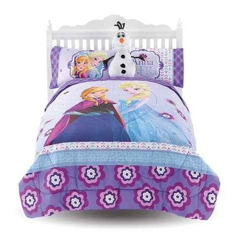 frozen bedding set twin new disney frozen melt my heart complete bedding comforter sheet set size full