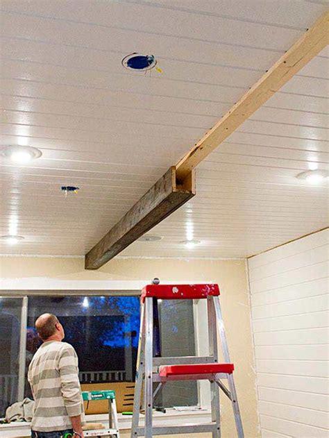 boards and beams how to make rustic wood beams