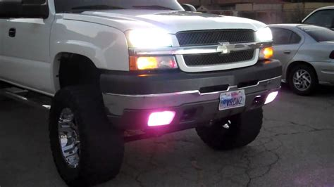 07 silverado lights 03 07 chevy silverado all lights on mod