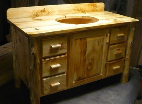 Knotty Pine Vanity Stylish Inspiration Knotty Pine Bathroom Vanity And Sink In Mi Cabinets Bathroom Vanity