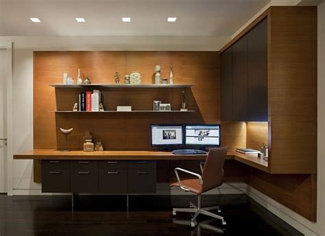 practical cool desk design for contemporary home office