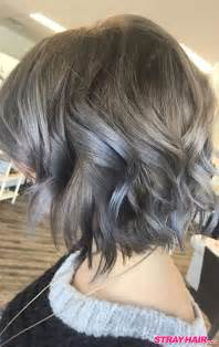 grey hair on mid length hair gorgeous gunmetal gray hair strayhair
