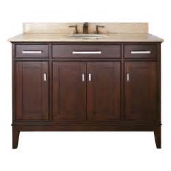 48 Bathroom Vanity Cabinet 48 Quot Bathroom Vanity Light Espresso Bathroom Vanities Bath Kitchen And Beyond