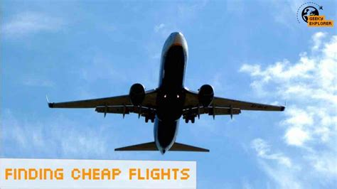 how to find a cheap flight be clever with your cash database error