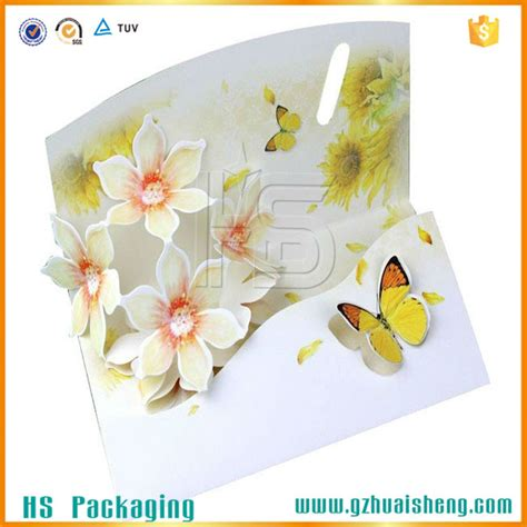 Paper Crafts Greeting Cards - wholesale pop up happy birthday greeting card birthday