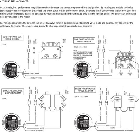 msd ignition pertronix ignitor ii wiring diagram for