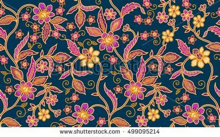 design of batik printing seamless batik patternable repeat textile printing stock