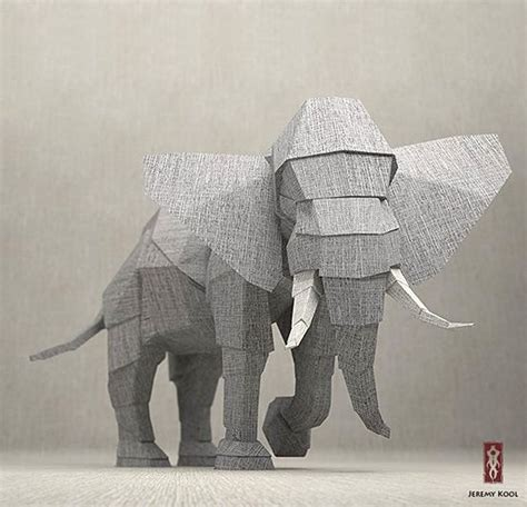Kool Origami - 1000 ideas about origami elephant on origami