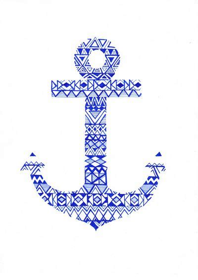 tribal anchor tattoo tribal anchor print tribal designs anchors and