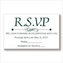 response cards rsvp