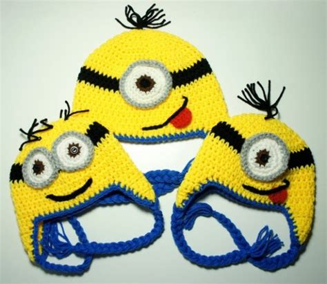 minion crochet bobs and the minions on pinterest 10 super cute crochet minion patterns beesdiy com