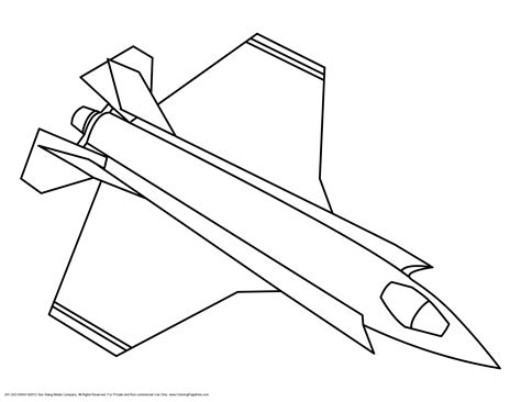 jet coloring pages to download and print for free