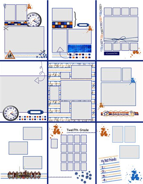 free yearbook templates yearbook template playbestonlinegames