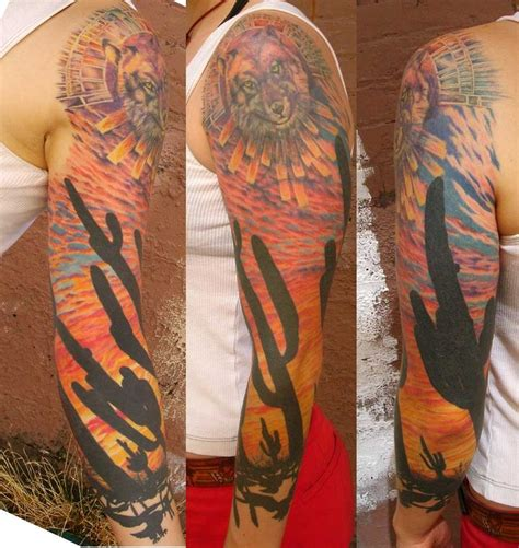 desert tattoos mojave desert by viptattoo on deviantart