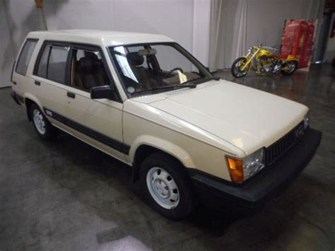 1983 Toyota Tercel 6 Speed And Plaid 1983 Toyota Tercel 4wd Wagon Bring A