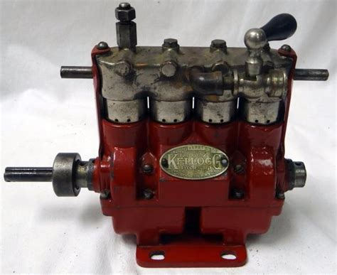 vintage kellogg model 44 four cylinder water cooled tire air compressor ebay