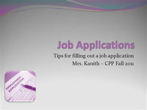 chapter 7 applying for a job chapter 7 applying for a job lesson 7 1