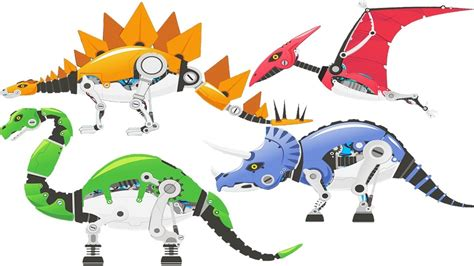 Robo Dinosaur 5 dinosaur robot toys gameplay dinosaurs