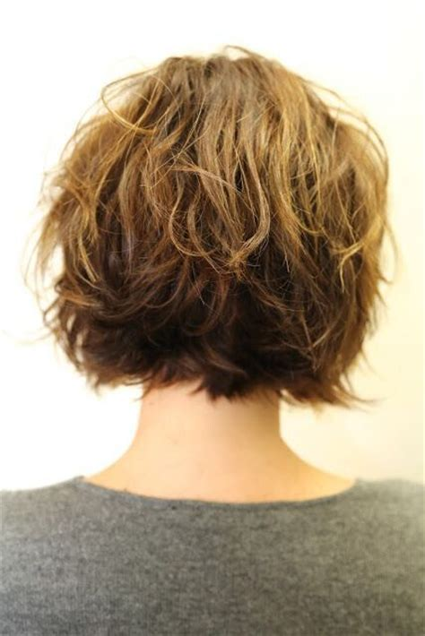 back view wavy bob for thick hair 2015 shaggy haircuts for women newhairstylesformen2014 com