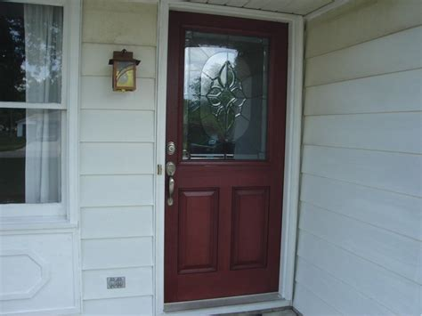 Fiberglass Exterior Doors Reviews Thermatru Fiberglass Entry Door Installation Garrett Indiana Jeremykrill