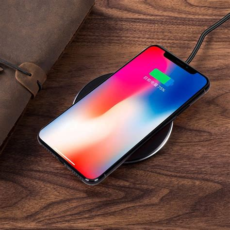 antye fast wireless charger 7 5w compatible for iphone xs max xr x 10w qi wireless charging pad