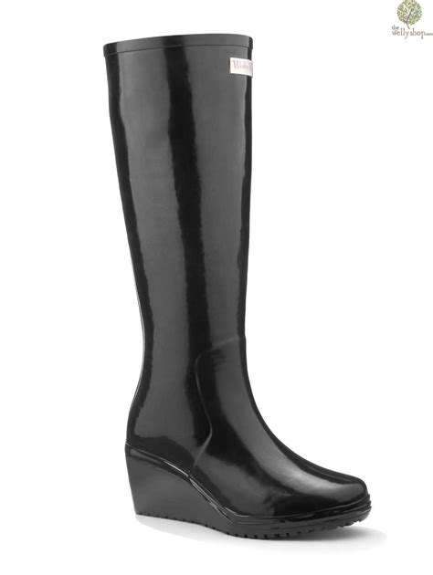 New Stok Wedges T 1 3 8 Bagus wedge welly black legend unique brand