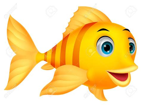 cute fish cartoon royalty free cliparts vectors and