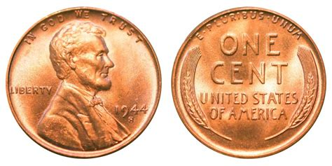 image gallery 1944 wheat penny