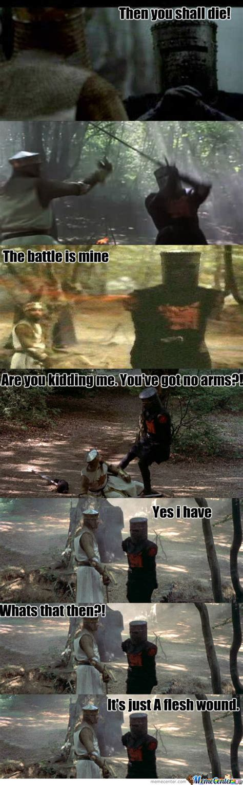 Monty Python Meme - monty python black night by davidlovesmen meme center