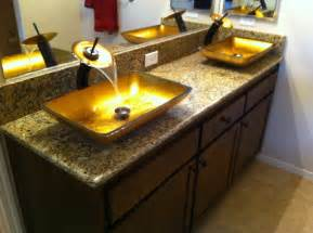Design For Granite Vessel Sink Ideas 35 Unique Bathroom Sink Designs For Your Beautiful Bathroom