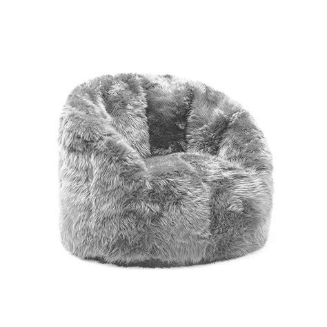 Design Ideas For Fuzzy Bean Bag Chair Bean Bag Chair Home Furniture Design