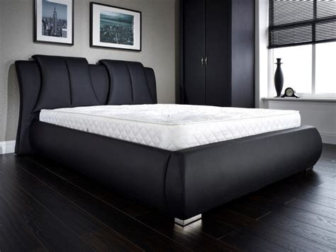 Azure Black King Size Bed King Size Bed Frames Furn On King Size Black Bed Frame