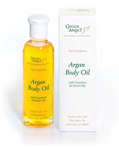 Bath With Shower Combination green angel argan body oil neroli geranium green