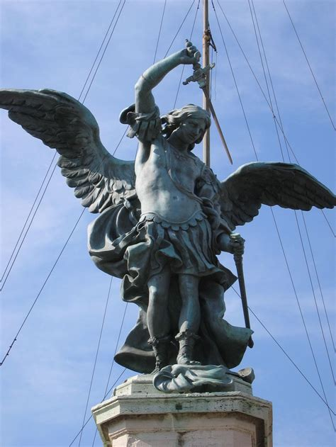 Archangel Michael statue of the archangel michael in castel sant angelo