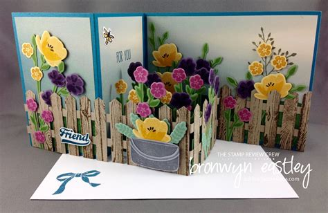 zfold pop up card template pop up z fold box card with picket fence