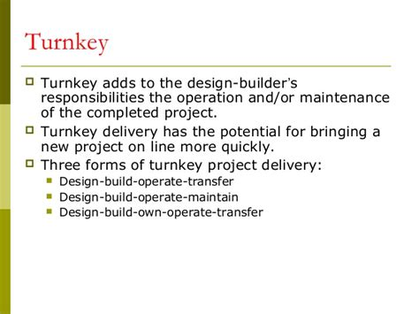 turnkey contract template construction contracts docuements 08092008