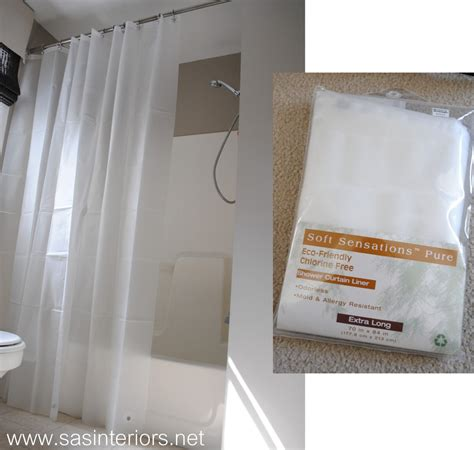 bathroom plastic curtains how to make any curtain into a shower curtain jenna burger