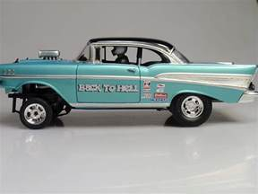 57 chevy gasser drag racing models model cars magazine