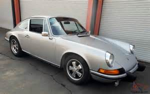 Porsche 911t For Sale 1973 Porsche 911t An Original Condition Car