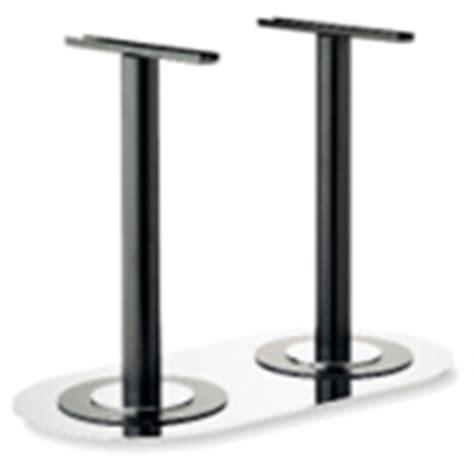 gestell für holz tische tischgestelle f 252 r esstische aus metall und holz