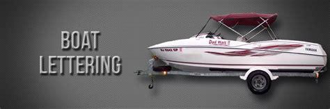 yamaha boat lettering acerbos custom vinyl boat lettering boat graphics by