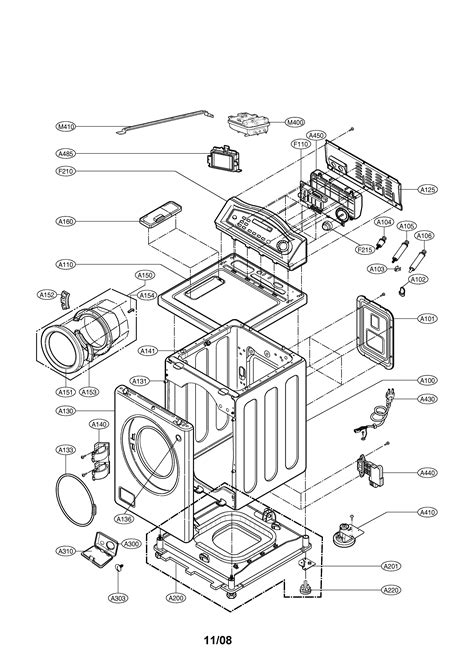 lg front load washer parts diagram lg washer parts model wm0742hwa sears partsdirect