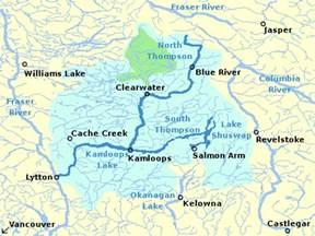 thompson river fraser river