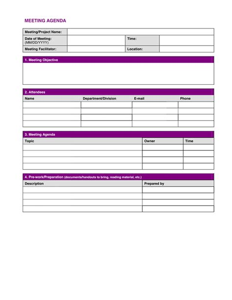 project meeting minutes template project meeting minutes template in word and pdf formats