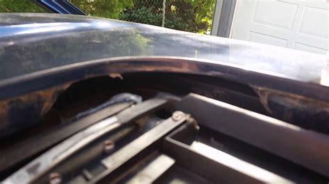2009 chevy silverado moon roof drain chevy trailblazer leaking sunroof fix