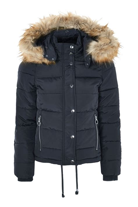 quilted puffer jacket clothing topshop