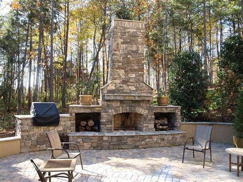 Outdoor Masonry Fireplace Plans by Brick Outdoor Fireplace Plans Fireplace Designs